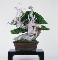 金澤翔子の書と銘樹のコラボ展
