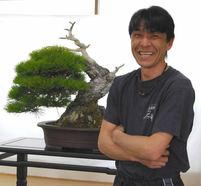 Koji Hiramatsu(Hiramatsu Shunshoen bonsai garden)