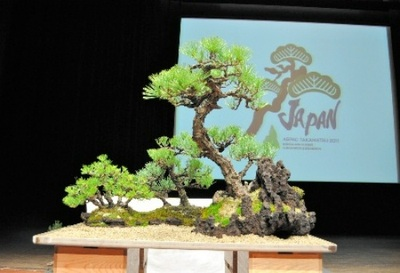 Yoseue arranged by Matsuda in the demonstration of ASPAC Takamatsu