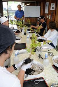 盆栽PR、担い手育成 高松商議所が講座開始 体験型観光の一助