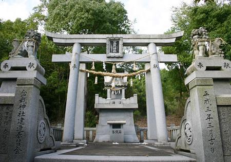 ユニークな盆栽神社=高松市国分寺町