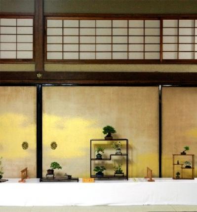昨年の香川国風小品盆栽会秋季展
